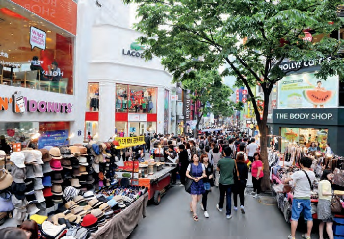 Tourist Attractions and Shopping Centers Korea The – Seoul Tourist Attractions Map