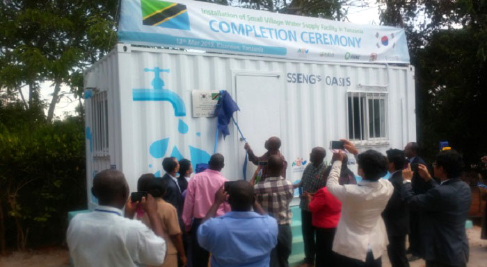 New Tank Filter In Tanzania Offers Clean Drinking Water
