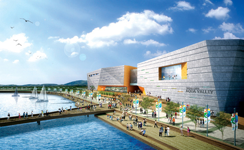 Various exhibition facilities will be open for the Expo, including Aqua Valley, the largest aquarium in the country