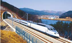KTX (Korean Train eXpress), high-speed rail service