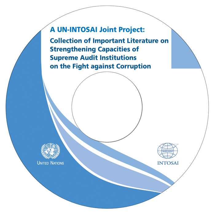 "The first BAI-UN joint project, ""A UN-INTOSAI Joint Project: Collection of Important Literature on Strengthening Capacities of Supreme Audit Institutions on the Fight against Corruption,"" is issued in 191 nations around the world. (photos courtesy of the BAI)"