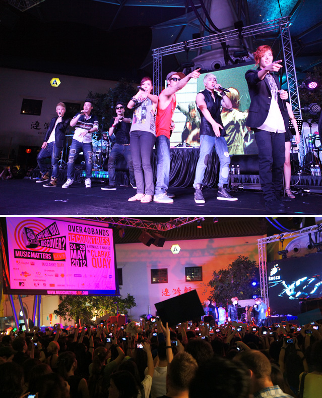 In Singapore, K-pop stars witness for themselves the growing popularity of K-pop across the world.