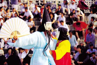 Mask dance from the Gangneung Danoje Festival