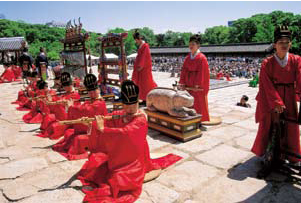 Jongmyojeryeak (Royal ancestral ritual music)