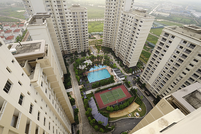 Splendora New City is located in North An Khanh, Vietnam. POSCO Engineering  & Construction