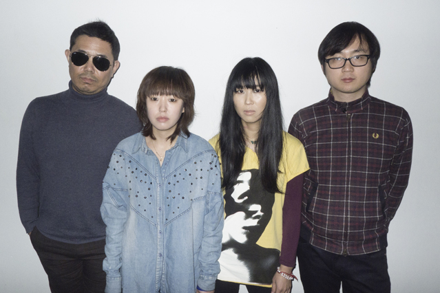 One of Korean indie bands, 3rd Line Butterfly (photo courtesy of DFSB Kollective)