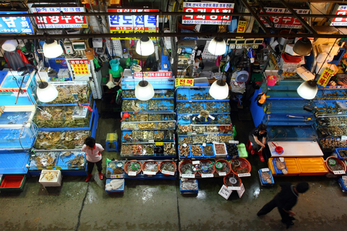 A view of Noryangjin Fish Market in Seoul (photo: Yonhap News)