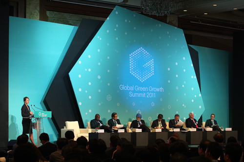 A scene from the 2011 summit