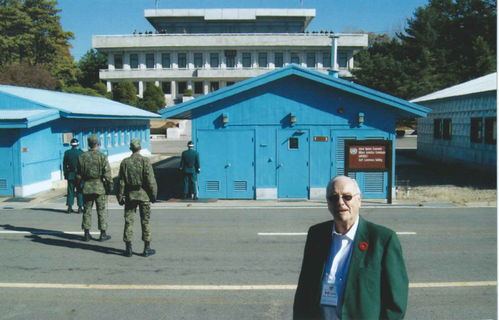A visit to Panmunjeom at the DMZ in 2010 (photo courtesy of Jean Pierre Van Eck)