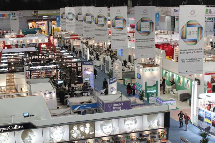 The 43rd London Book Fair is held at Earls Court in London. (photo courtesy of the Ministry of Culture, Sports and Tourism)