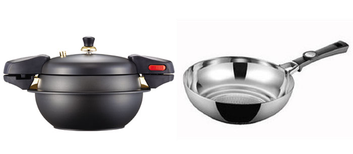 Poong Nyun's stone pressure cookers and woks take into consideration the food preferences of Chinese diners who love to eat <i>dolsot bibimbap</i> and stir-fried food.