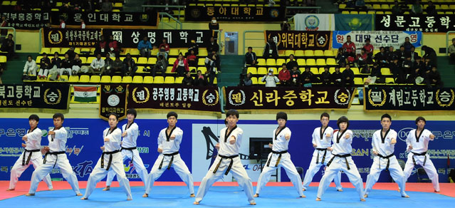 Thousands compete in Gyeongju Taekwondo Championships ...