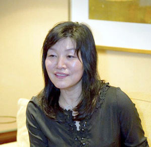 Author Shin Kyung-sook is the first woman and the first Korean to win the Man Asian Literary Prize (photo courtesy of the Man Asian Literary Prize).