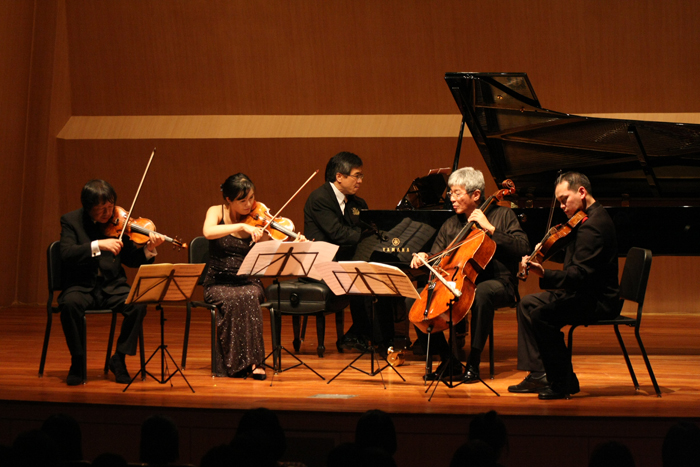 Last year's performance during the Seoul Spring Festival of Chamber Music in the Sejong Chamber Hall (photo courtesy of SSF organizer)