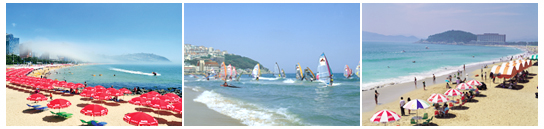 Haeundae Beach is perhaps the most well-known beach