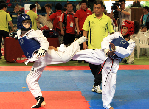 The sixth annual World Taekwondo Culture Expo kicked off on July 6 in Muju County, Jeollabuk-do gathering over 960 athletes from 24 countries
