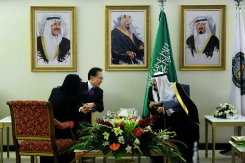 President Lee holds a summit with King Abdullah of Saudi Arabia on February 8