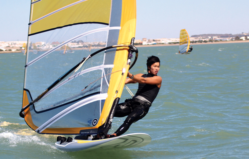 South Korean yachter Lee Tae-hoon will be competing in the single-person RS:X windsurfing event at the 2012 London Olympic Games.