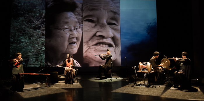 <i>Arirang -- The Song of Life</i> blends traditional Korean instruments with pansori, which will be performed by Jeong Ga Ensemble on July 10 and 11 (photo courtesy of the National Theater of Korea).