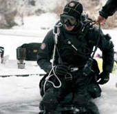 Kim Hyun Joong Goes Scuba Diving in a Frozen Lake