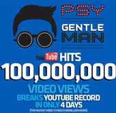 Psy's 'Gentleman' hits 100 million views in record time