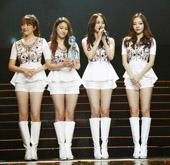 Kara Becomes most popular group at the ′China Music Awa...