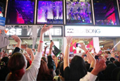 B.A.P's Times Square NYC appearance draws 3,000 fans