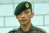 Rain gets discharged from the army