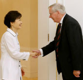 President Park meets Duke of Gloucester