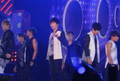 U-KISS performs at ′A-Nation′ for two years in a row