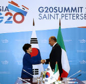 Korea, Italy hold summit to discuss cooperation