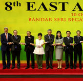 President Park discusses climate change, food security at EAS