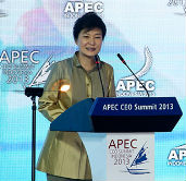 Remarks by President Park Geun-hye of the Republic of Korea at th...