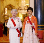 President Park attends royal banquet