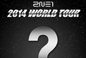 2NE1 to take on the second world tour in 2014