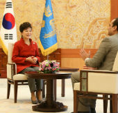 President emphasizes Korea, India cooperation