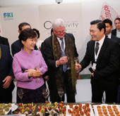 President attends Korea Night function in Davos