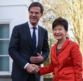 President Park holds summit with Dutch PM