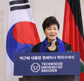 President Park makes 3-point proposal to Pyongyang