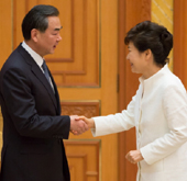 President meets Chinese Foreign Minister