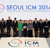 Seoul hosts world's largest math conference