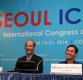 Medal winners at the International Congress of Mathematicians