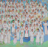 Portrait of 124 beatified martyrs unveiled