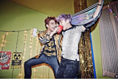 2PM members 'Go Crazy' with red cups and party gear