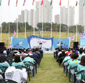 Athletes' village opens at Incheon Asian Games