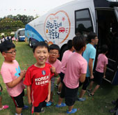 Sports Bus brings athletics to children