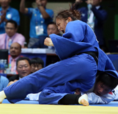 Korea wins series of gold medals in judo, fencing