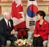 President starts Canada state visit