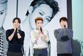 JYJ gathers 3,500 fans during Asia tour press conferenc...