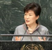 Address by President Park Geun-hye at the 69th session of the U.N...